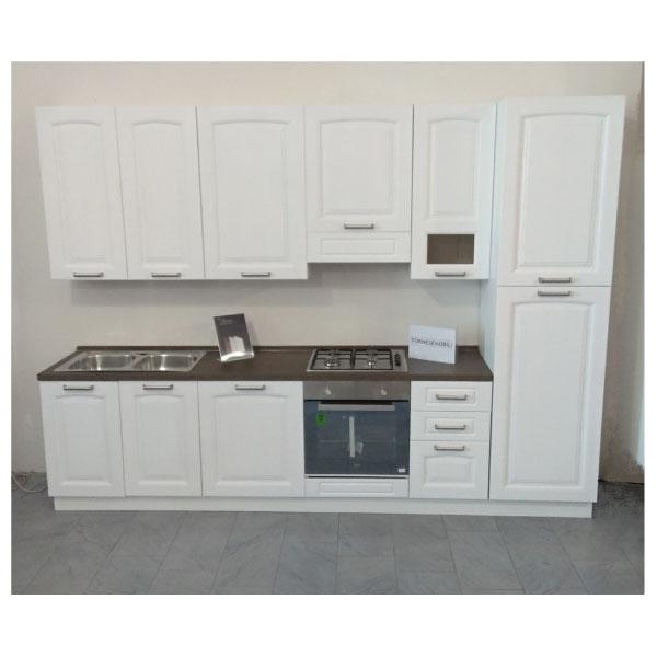 Cucina Componibile Provenza Bianca Da 315 cm